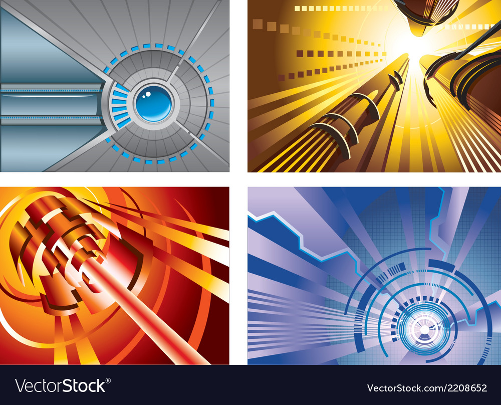 Abstract hi-tech backgrounds vector | Price: 1 Credit (USD $1)