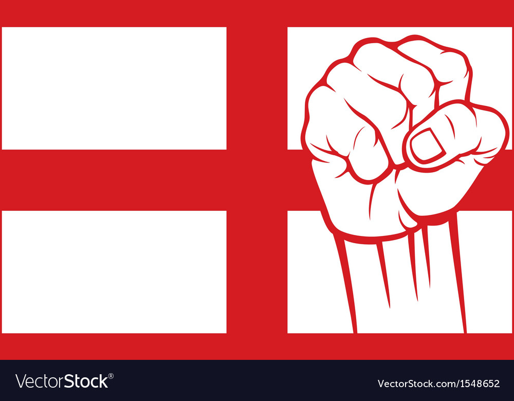 England fist vector | Price: 1 Credit (USD $1)