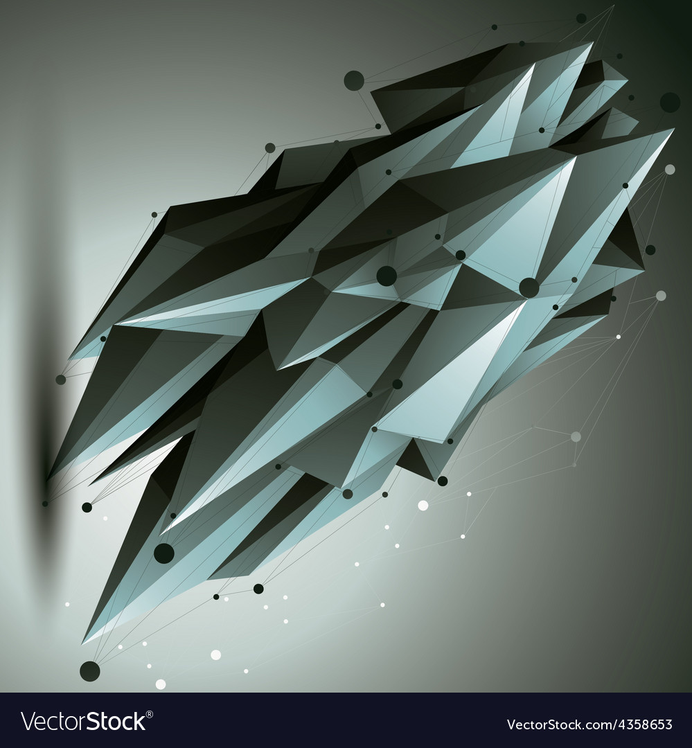 Spatial technological contrast shape polygonal vector   Price: 1 Credit (USD $1)