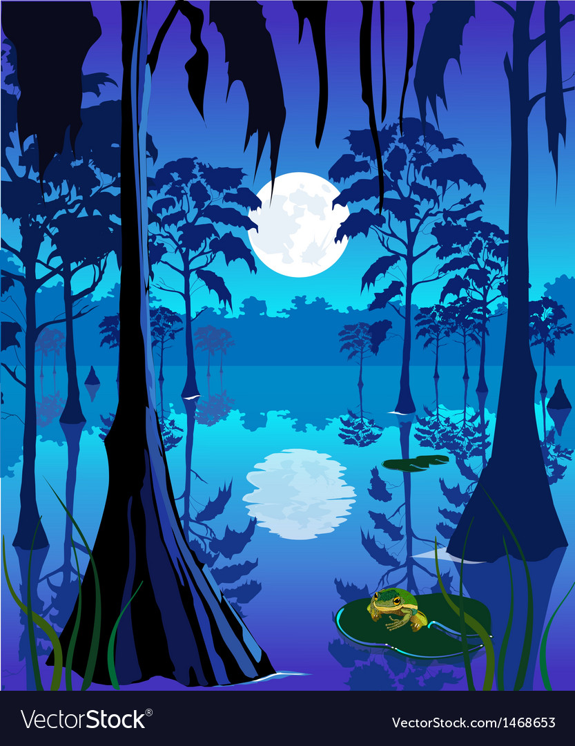 Swamp vector | Price: 3 Credit (USD $3)