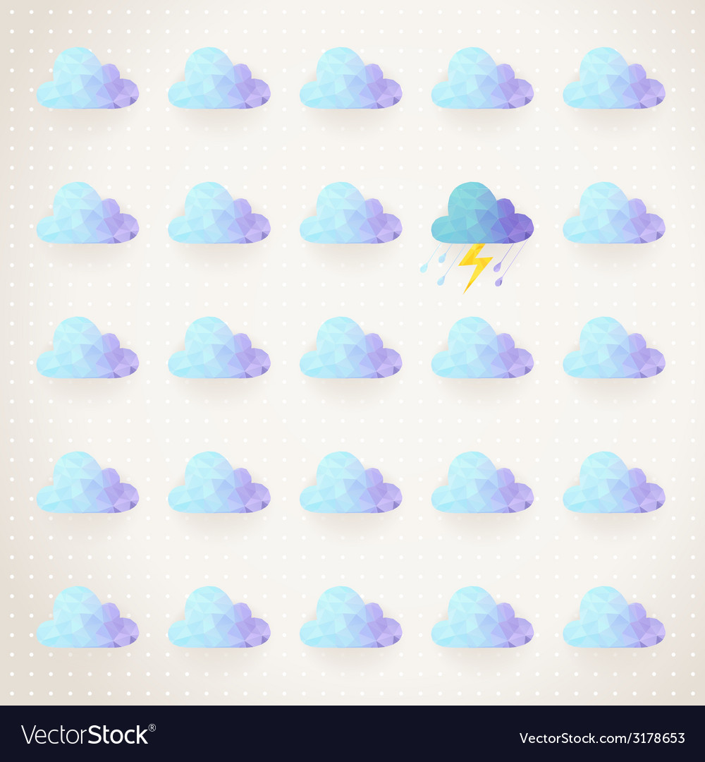 Weather pattern vector | Price: 1 Credit (USD $1)