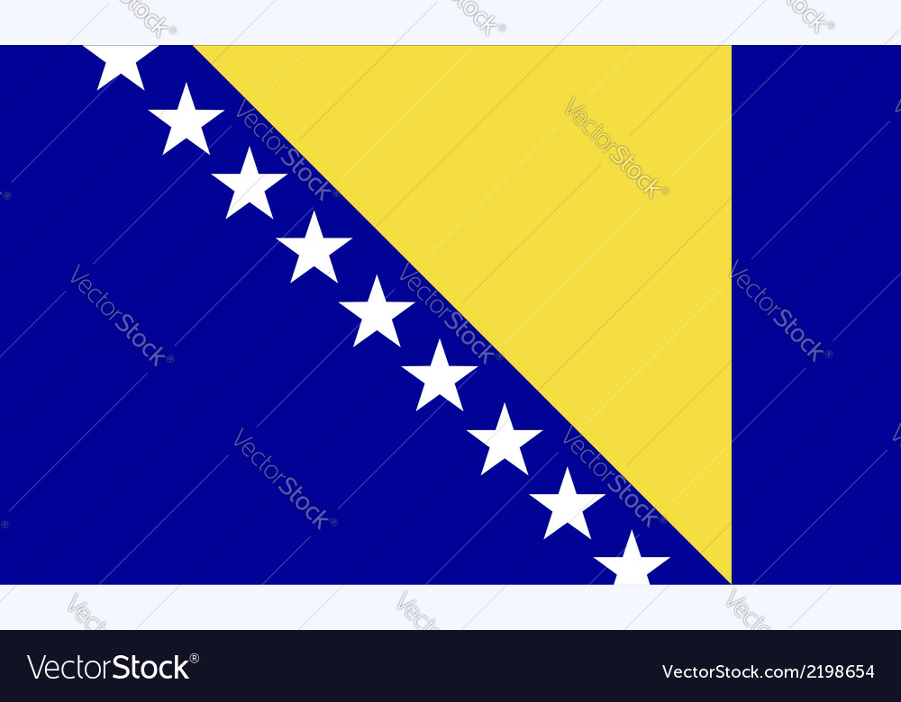 Bosnia and herzegovina vector | Price: 1 Credit (USD $1)
