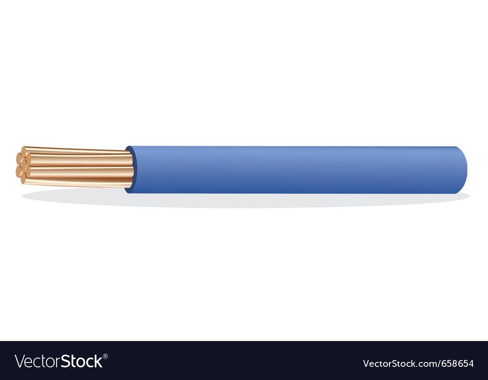 Electrical cable vector | Price: 1 Credit (USD $1)