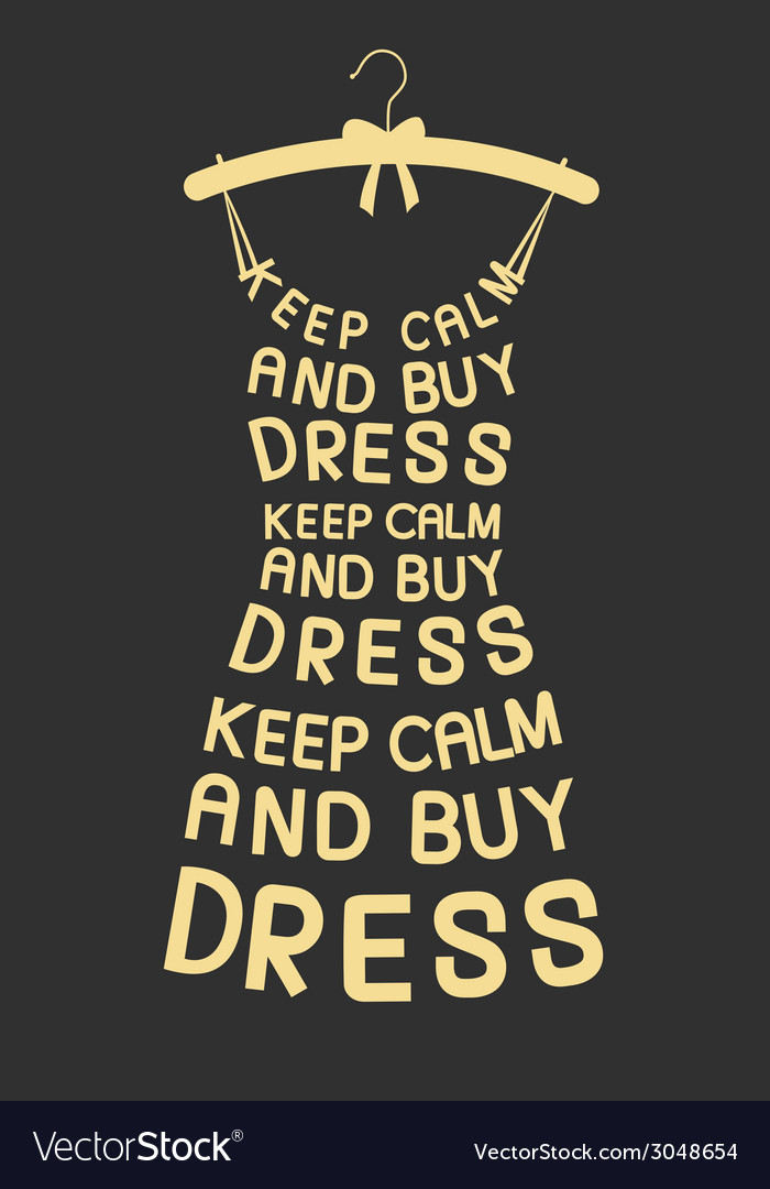 Woman dress from quotes vector | Price: 1 Credit (USD $1)