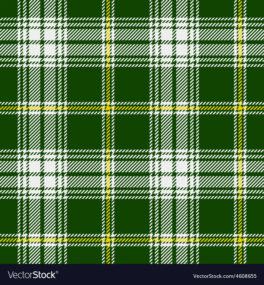 St patricks tartan vector | Price: 1 Credit (USD $1)