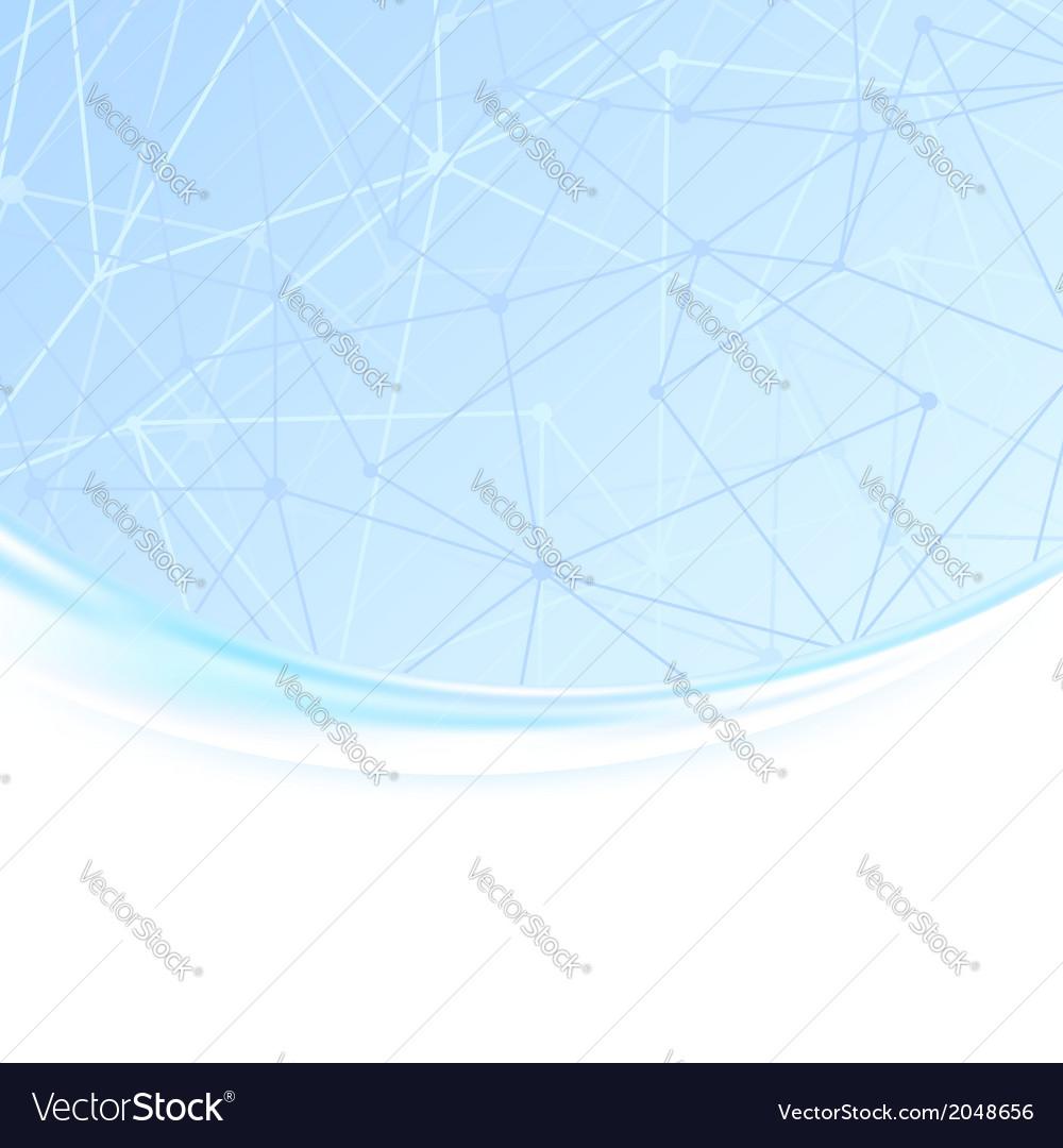 Molecule unusual wave background vector | Price: 1 Credit (USD $1)
