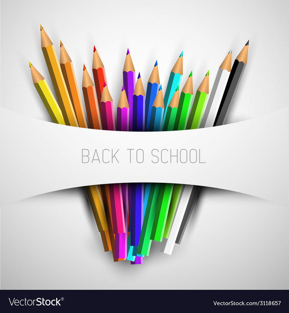 Back to school poster vector | Price: 1 Credit (USD $1)
