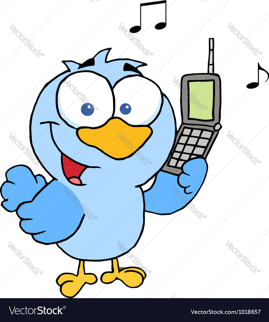 Bird calling vector | Price: 1 Credit (USD $1)