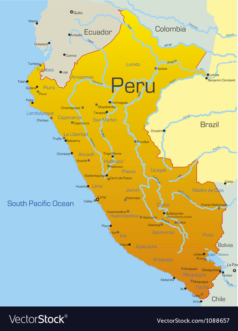 Peru vector | Price: 1 Credit (USD $1)