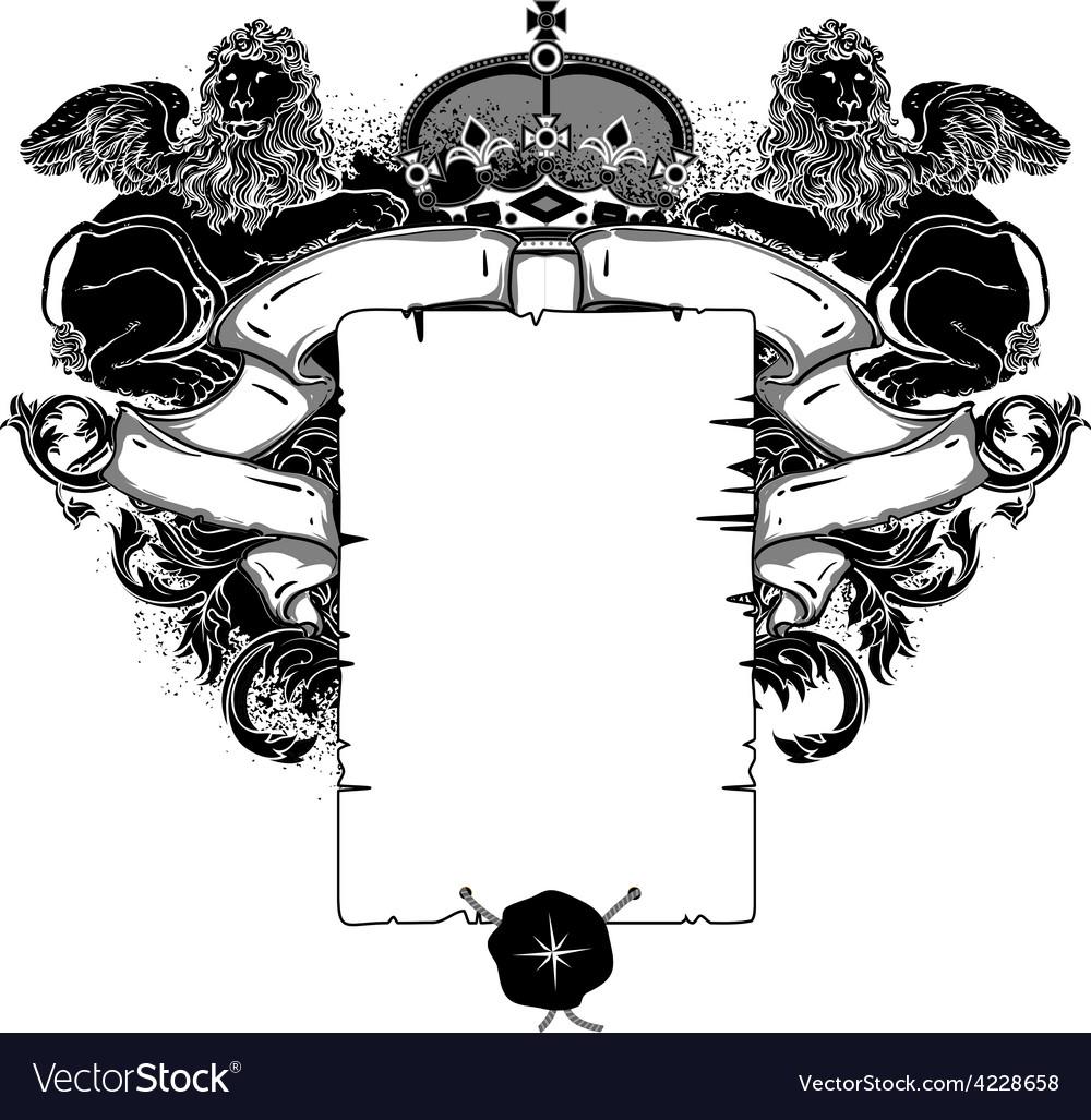 Ornate frame vector | Price: 3 Credit (USD $3)