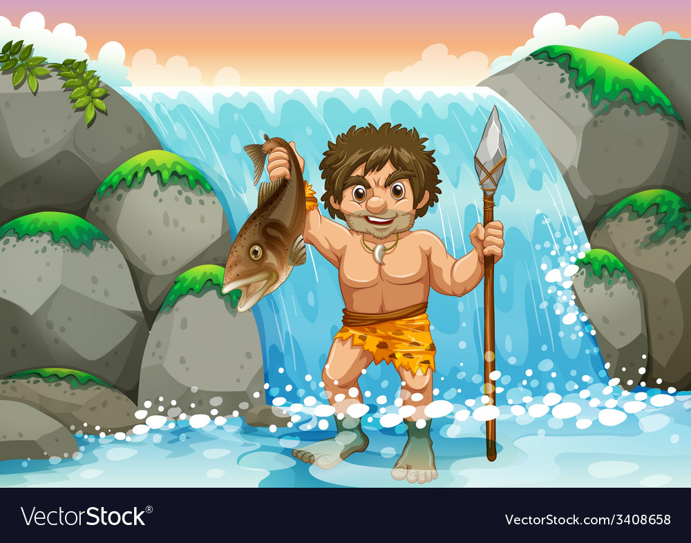 Stone age vector | Price: 3 Credit (USD $3)