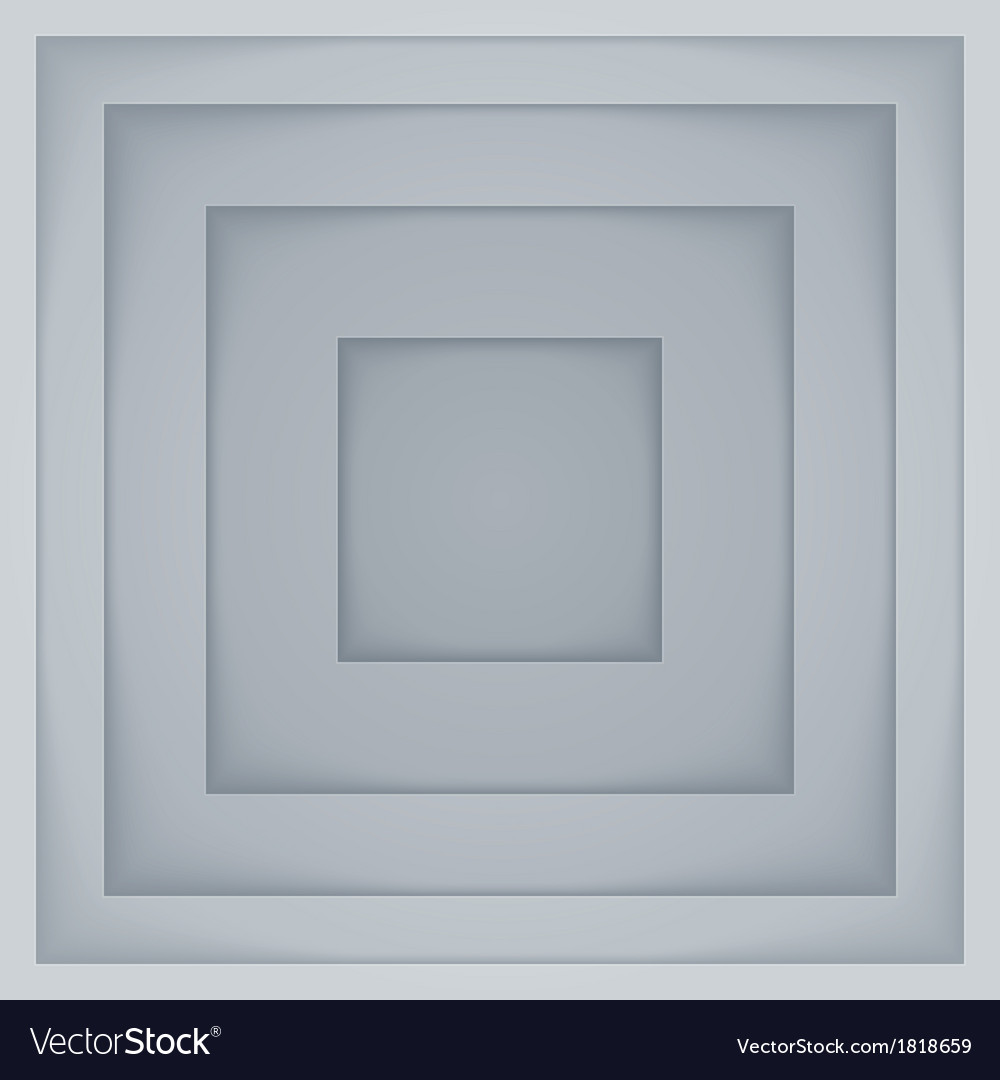 Abstract gray and white rectangle shapes vector | Price: 1 Credit (USD $1)