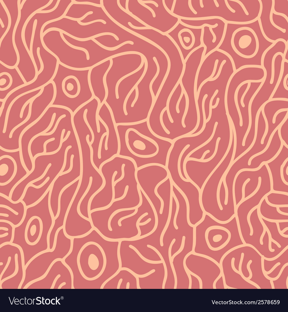 Seamless pattern with neurons vector | Price: 1 Credit (USD $1)