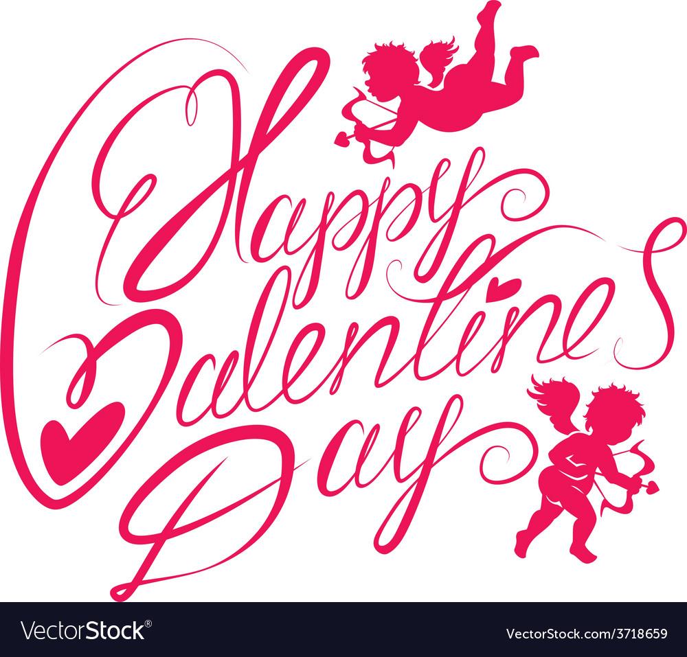 Valentine day calligr 2 380 vector   Price: 1 Credit (USD $1)