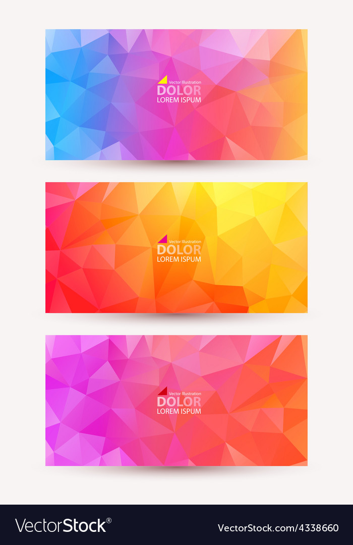 Abstract colorful document template vector | Price: 1 Credit (USD $1)