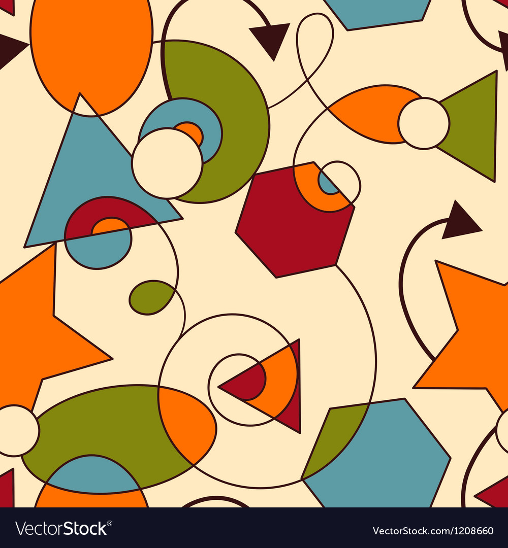 Abstract seamless composition vector | Price: 3 Credit (USD $3)