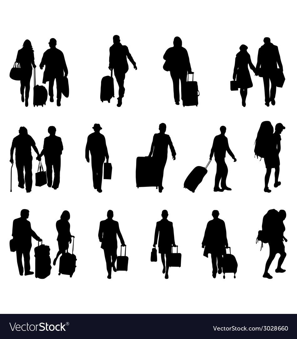 Travelers vector | Price: 1 Credit (USD $1)