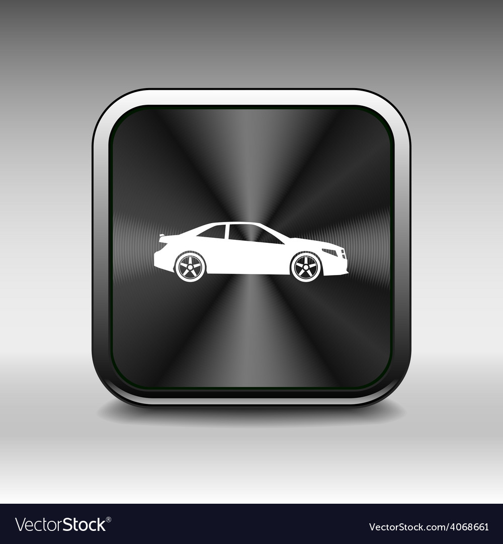 Automobile icon car vehicle automotive vector | Price: 1 Credit (USD $1)