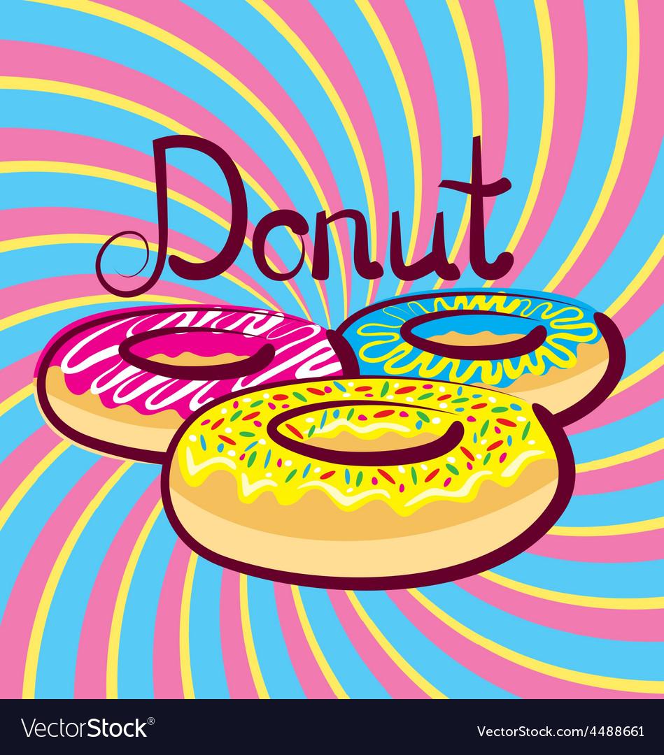 Doughnut vector | Price: 1 Credit (USD $1)