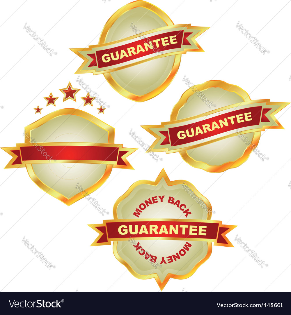 Guarantee vector | Price: 1 Credit (USD $1)