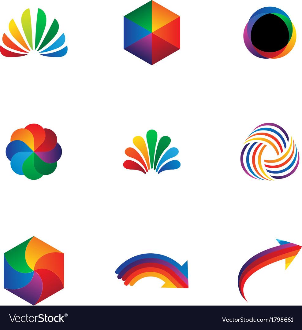 Logo elements vector | Price: 1 Credit (USD $1)
