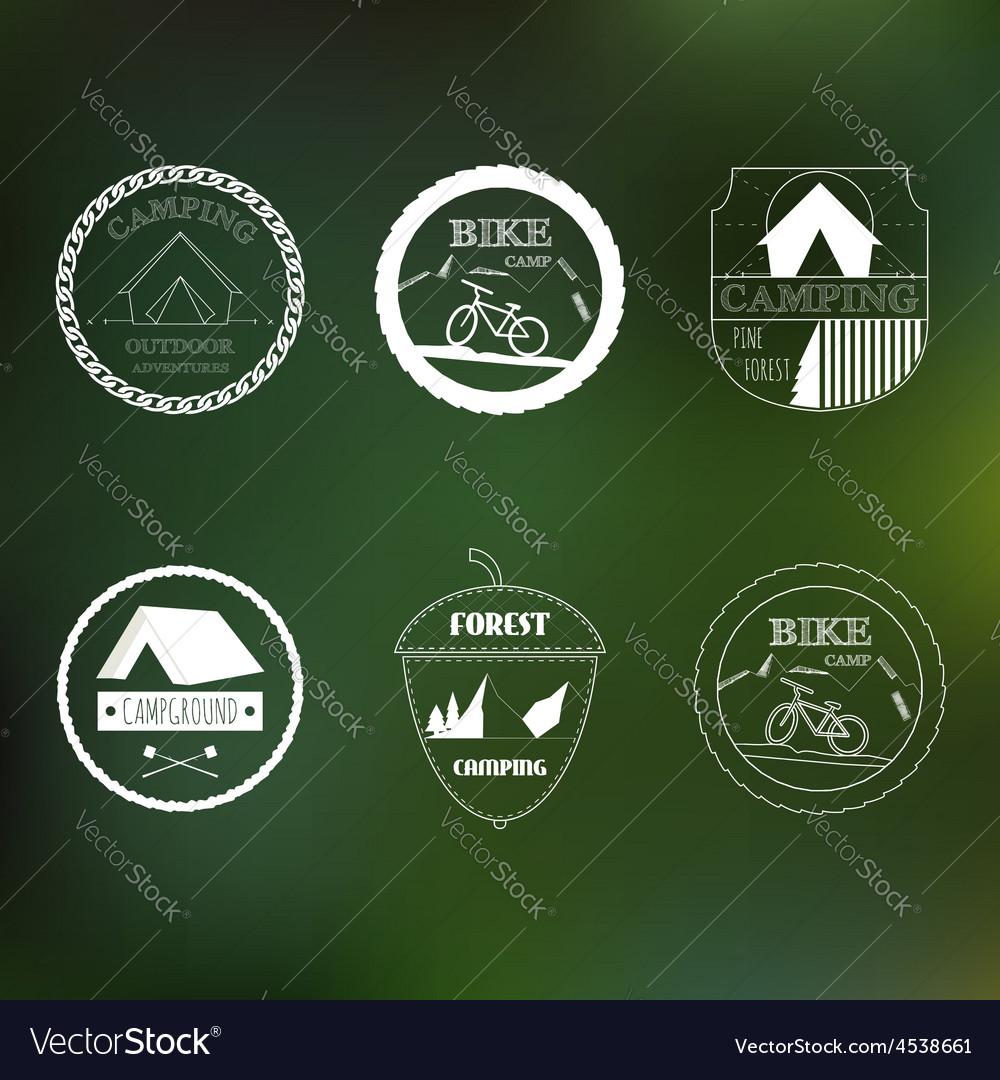 Outdoor activity elements vector | Price: 1 Credit (USD $1)