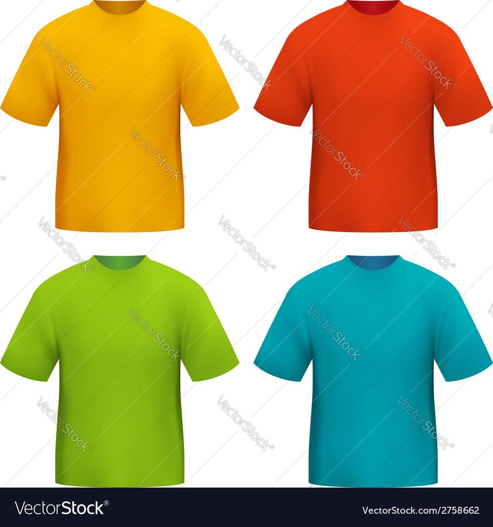 Color tshirt vector | Price: 1 Credit (USD $1)