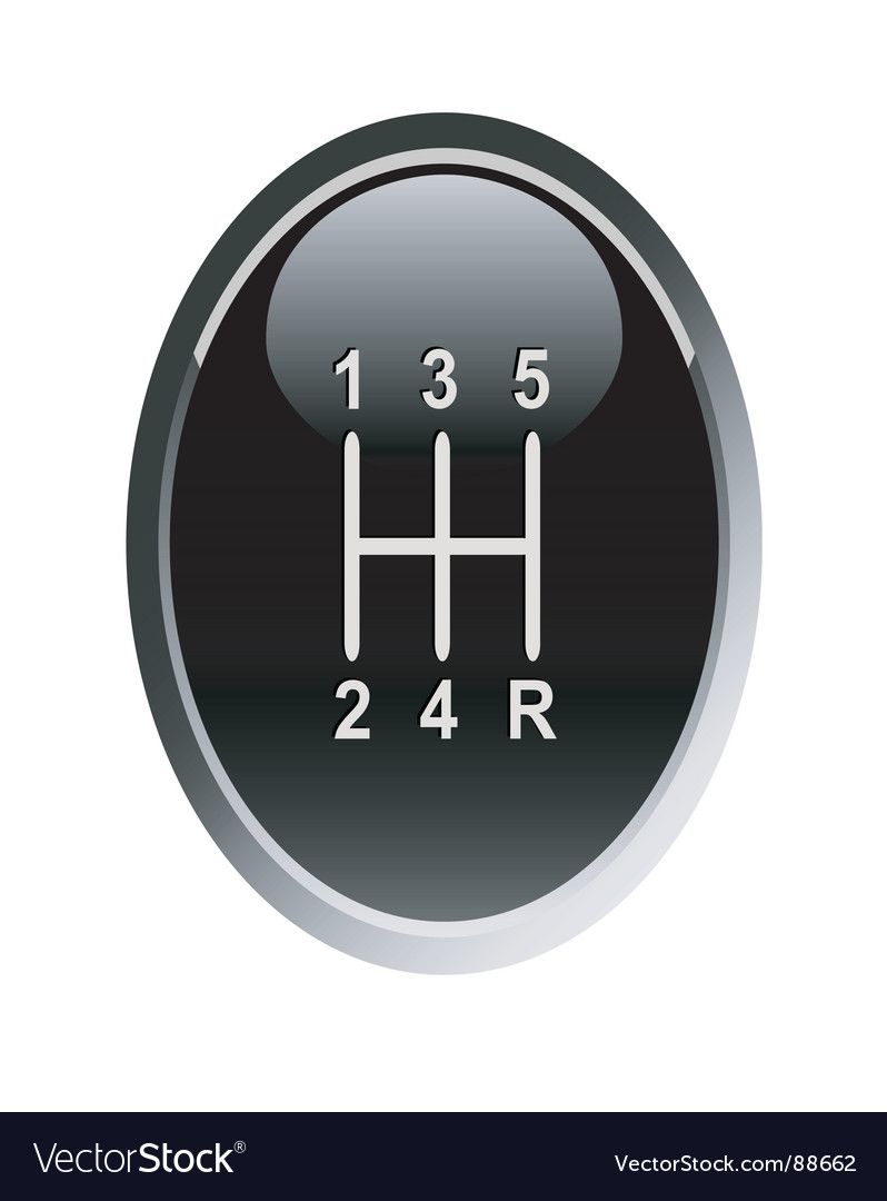 Gear stick vector | Price: 1 Credit (USD $1)
