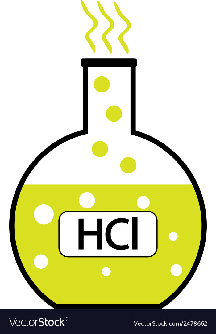 Hydrochloric acid vector | Price: 1 Credit (USD $1)