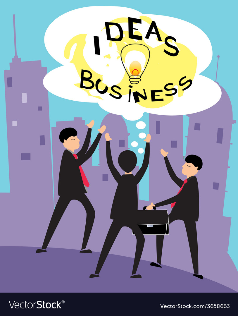 Business-ideas-2 vector | Price: 1 Credit (USD $1)