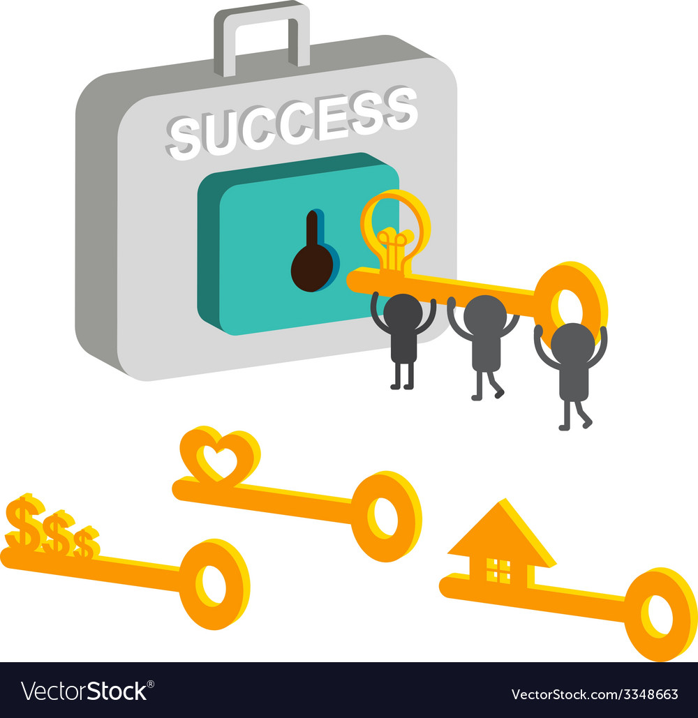 Key success vector | Price: 1 Credit (USD $1)
