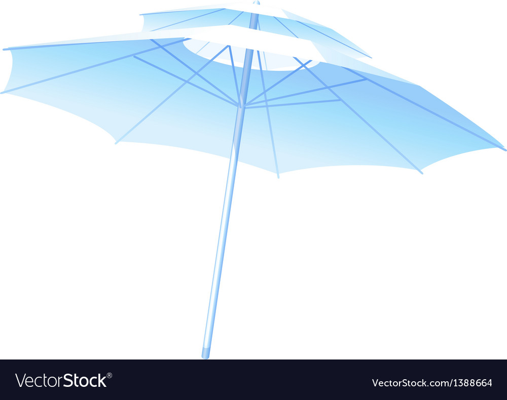 Icon parasol vector | Price: 1 Credit (USD $1)