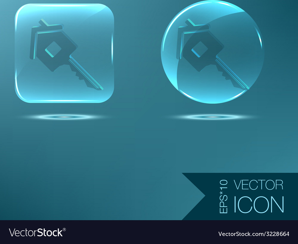 Key in the house real estate icon home sign vector   Price: 1 Credit (USD $1)