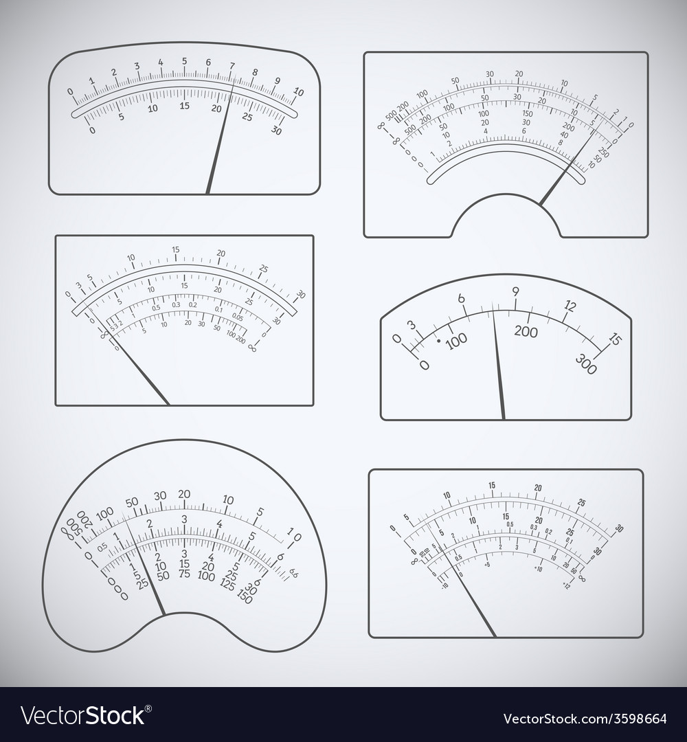 Measurers vector | Price: 1 Credit (USD $1)