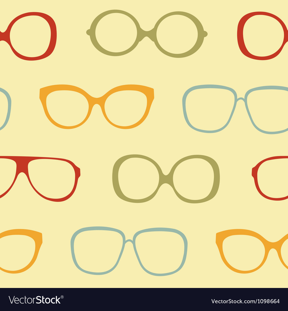 Sunglasses pattern vector | Price: 1 Credit (USD $1)