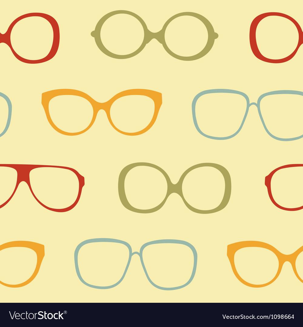 Sunglasses pattern vector | Price: 1 Credit (USD $1)