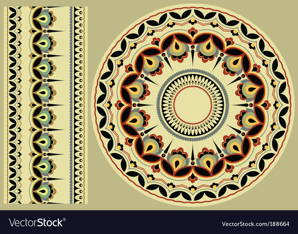 Ukrainian ornament vector | Price: 1 Credit (USD $1)