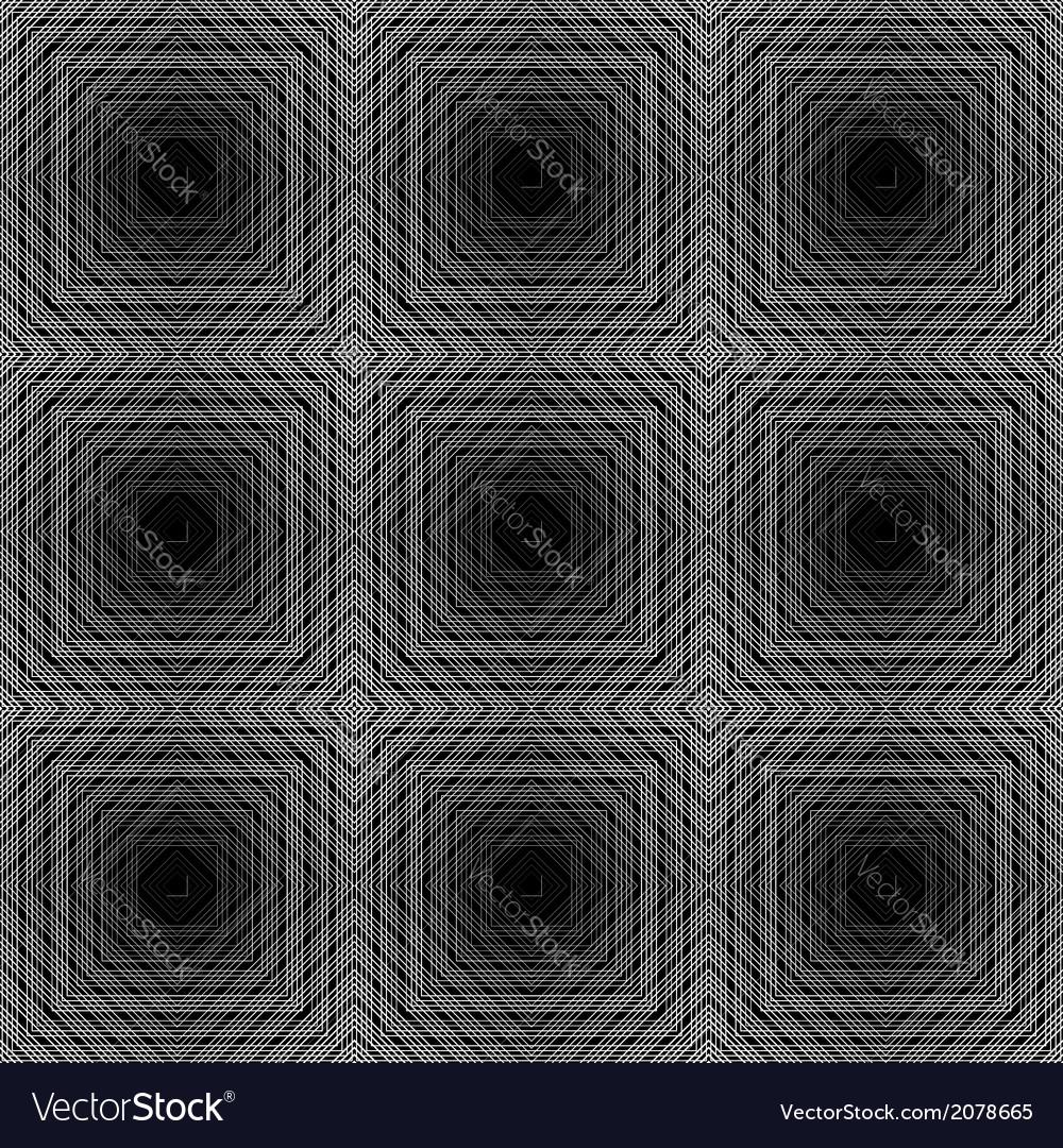 Design seamless checked trellis pattern vector | Price: 1 Credit (USD $1)