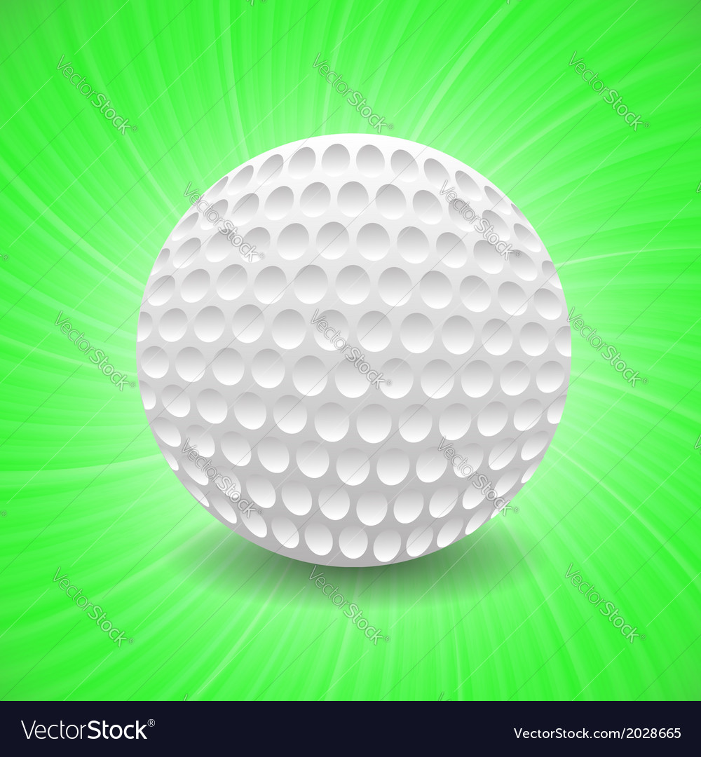 Golf game vector | Price: 1 Credit (USD $1)