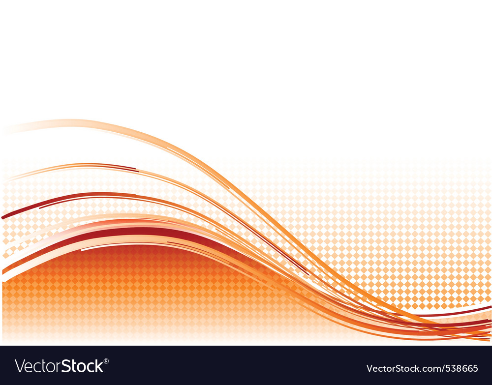 Red wave background with lines vector | Price: 1 Credit (USD $1)