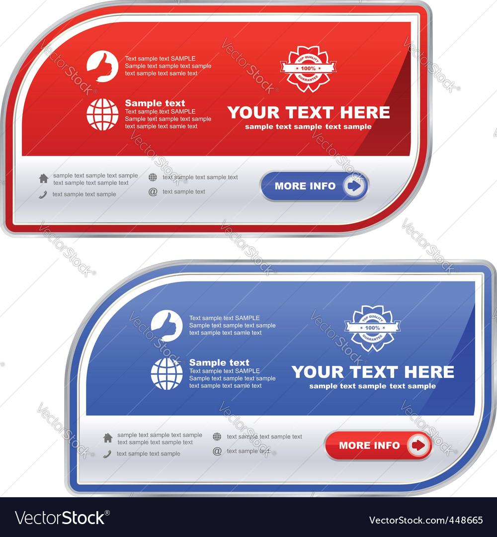 Sale banner templates vector | Price: 1 Credit (USD $1)