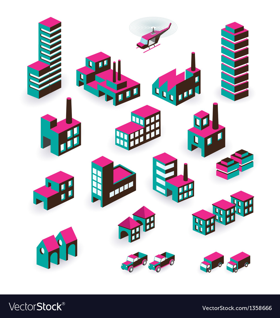 Isometric vector | Price: 1 Credit (USD $1)