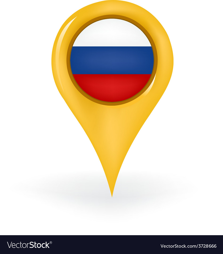 Location russia vector | Price: 1 Credit (USD $1)