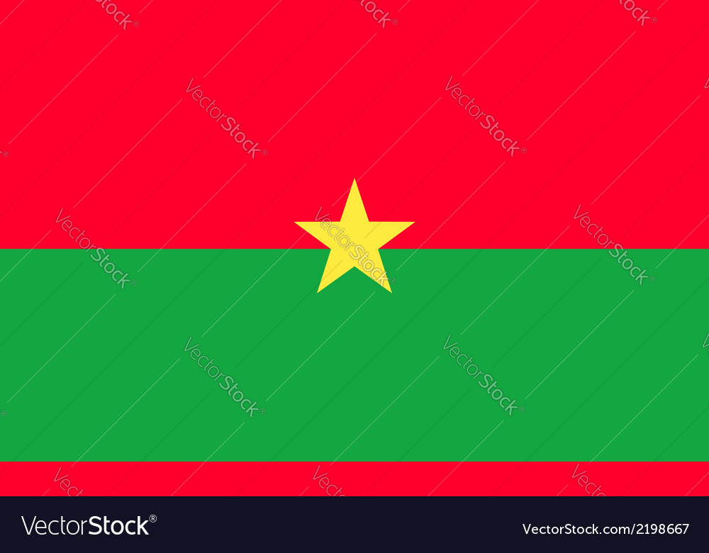 Burkina faso vector | Price: 1 Credit (USD $1)