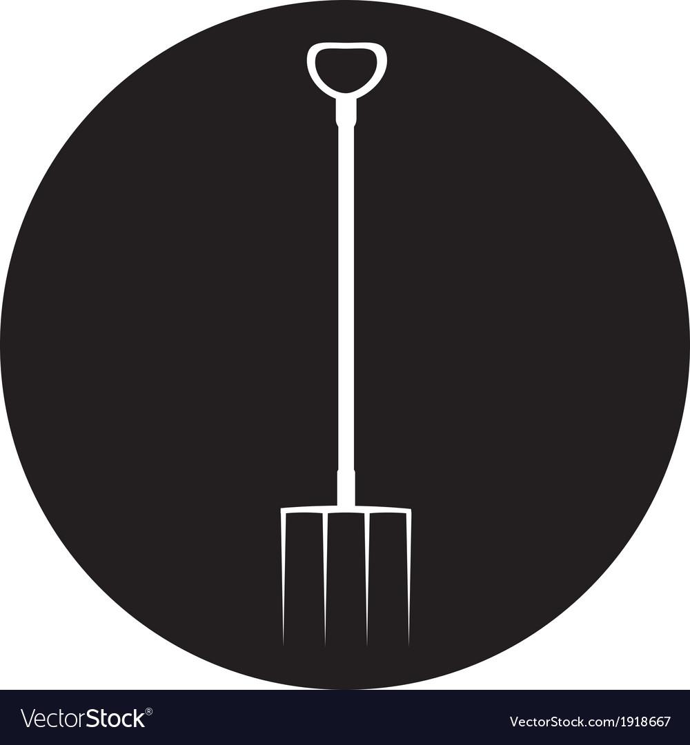 Garden tools silhouette vector | Price: 1 Credit (USD $1)
