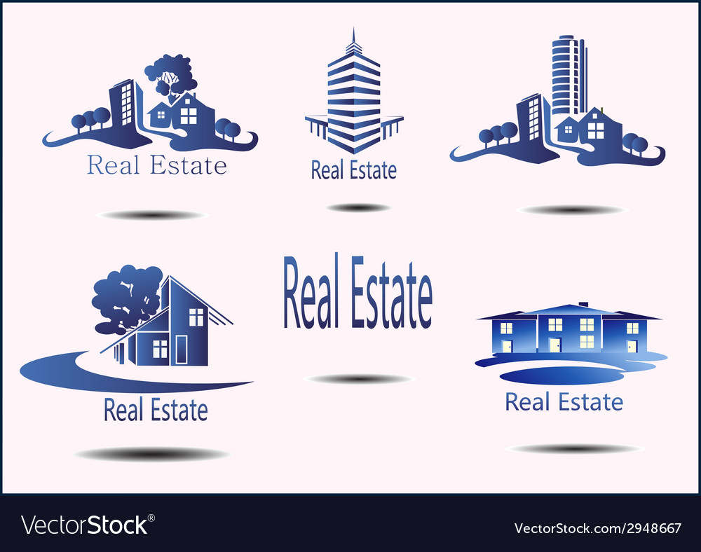Real estate logo eco home vector | Price: 1 Credit (USD $1)