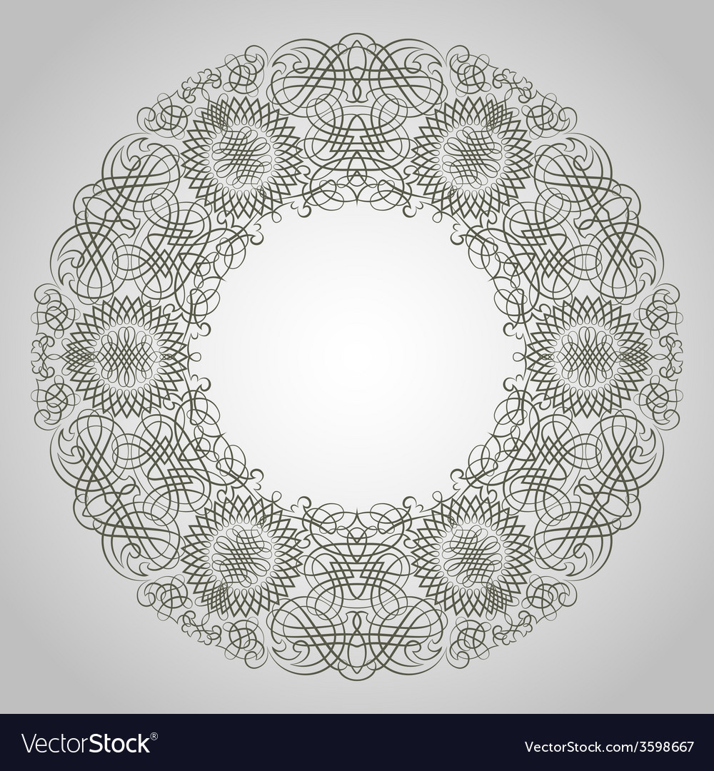 Round pattern vector   Price: 1 Credit (USD $1)