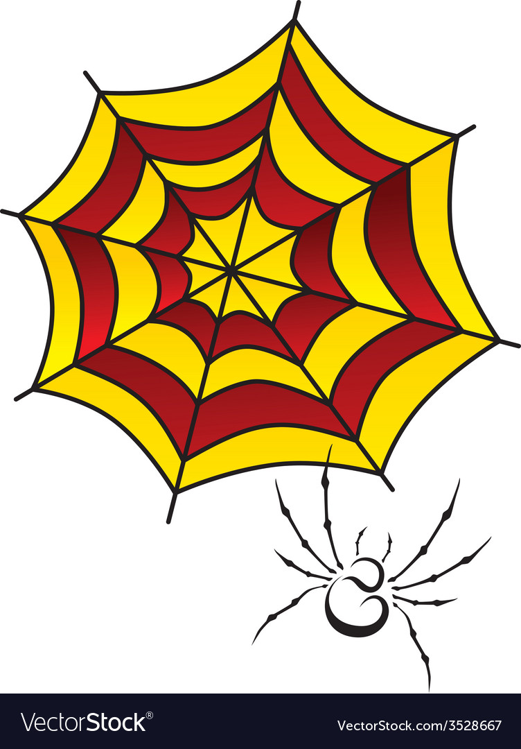 Spider web art vector | Price: 1 Credit (USD $1)