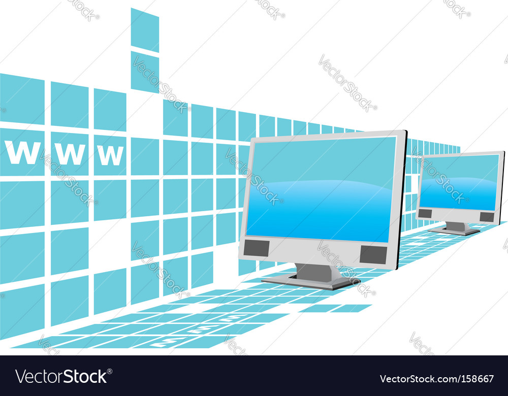 Web computers vector | Price: 1 Credit (USD $1)