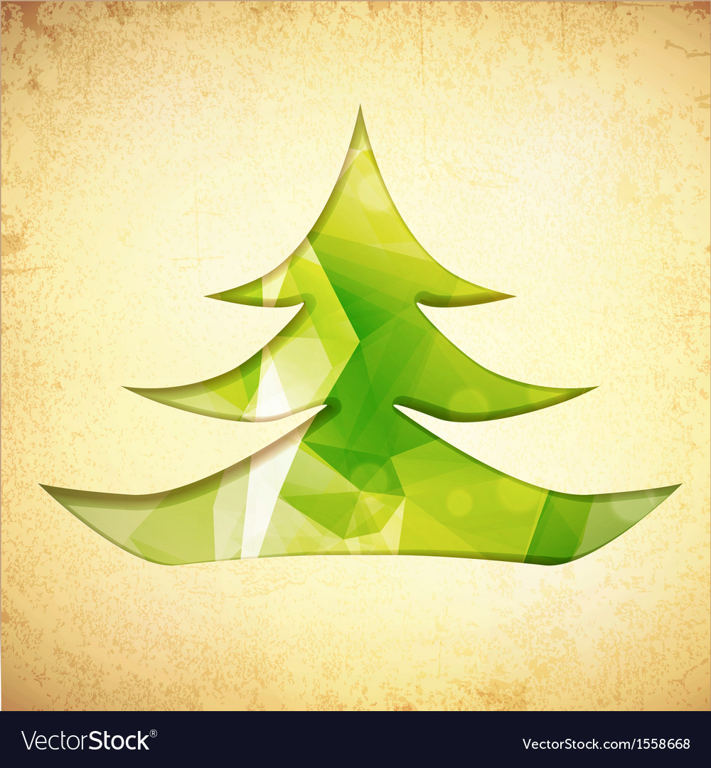 Christmas tree vector | Price: 1 Credit (USD $1)